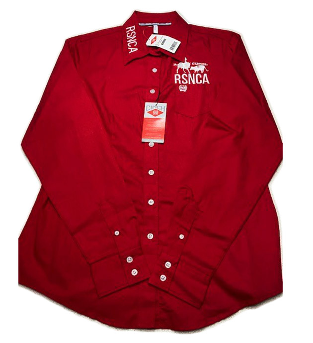 Ladies Shirt Red